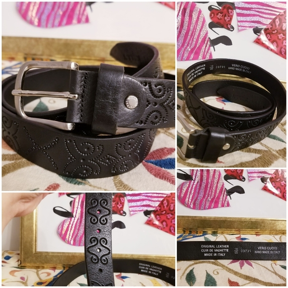 Vero Cuoio Original Italian Leather Belt